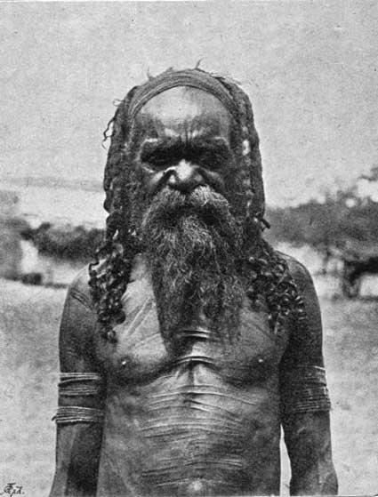 Arunta Man - Central Australia