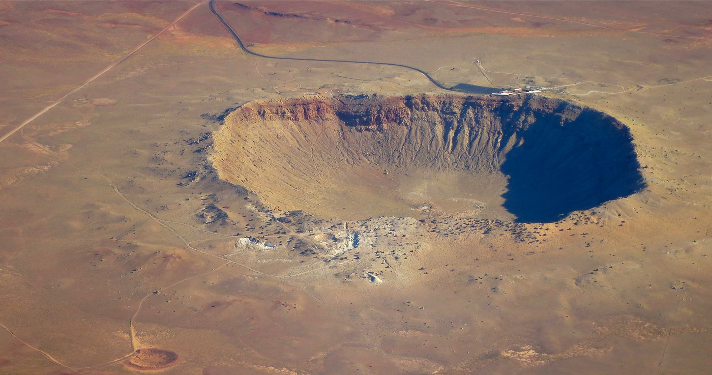 the origin and history of meteor crater 9 incredible meteorite craters that look straight out of 'deep impact'  a huge bowl is all that remains from the largest impact crater in the history of the earth  it's known simply.
