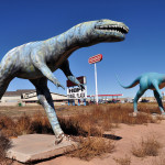 Dinosaurs at the Hopi Plaza
